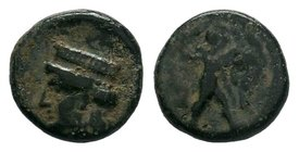 CYPRUS. Kition. Melekiathon (Circa 392/1-362 BC). Ae.   Condition: Very Fine  Weight: 2.17 gr Diameter: 13 mm
