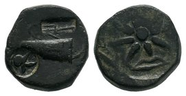 PONTUS. Anonymous issue . Circa 130-100 BC. Æ   Condition: Very Fine  Weight: 10.47 gr Diameter: 19 mm