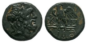 BITHYNIA. Dia. Ae (Circa 95-90 or 80-70 BC   Condition: Very Fine  Weight: 7.83 gr Diameter: 21 mm