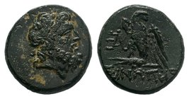 Paphlagonia. Sinope circa 120-60 BC.    Condition: Very Fine  Weight: 7.25 gr Diameter: 20 mm
