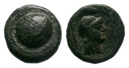 PAMPHYLIA. Side. Ae (1st century BC).  Condition: Very Fine  Weight: 2.00 gr Diameter: 12 mm