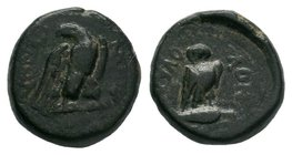 Phrygia. Synnada. Pseudo-autonomous issue . Time of Tiberius, AD 14-37.   Condition: Very Fine  Weight: 4.33 gr Diameter: 16 mm