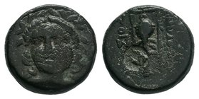 TROAS. Ilion. Ae (Circa 133-119 BC).  Condition: Very Fine  Weight: 6.00 gr Diameter: 17 mm