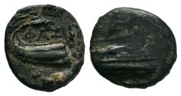 Lycia. Phaselis circa 250-220 BC. Bronze Æ    Condition: Very Fine  Weight: 4.38 gr Diameter: 18 mm