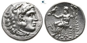 Kings of Macedon. Magnesia ad Maeandrum. Antigonos I Monophthalmos 320-301 BC. In the name and types of Alexander III. Drachm AR