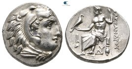 Kings of Macedon. Abydos. Philip III Arrhidaeus 323-317 BC. In the name and types of Alexander III. Drachm AR