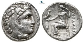 Kings of Macedon. Miletos. Philip III Arrhidaeus 323-317 BC. In the name and types of Alexander III. Drachm AR