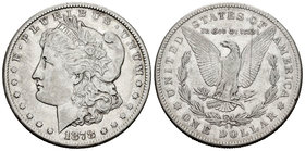 United States. 1 dollar. 1878. Carson City. CC. (Km-110). Ag. 26,61 g. Scarce. Choice VF. Est...100,00.