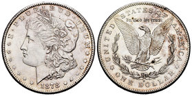 United States. 1 dollar. 1878. San Francisco. S. (Km-110). Ag. 26,76 g. Minor contact marks. XF. Est...50,00.