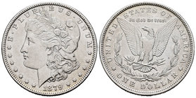 United States. 1 dollar. 1879. New Orleans. O. (Km-110). Ag. 26,70 g. Almost XF. Est...30,00.