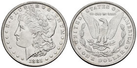 United States. 1 dollar. 1881. Philadelphia. (Km-110). Ag. 26,66 g. Almost XF. Est...40,00.
