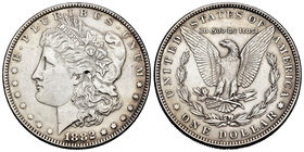 United States. 1 dollar. 1882. Philadelphia. (Km-110). Ag. 26,64 g. Almost XF. Est...40,00.