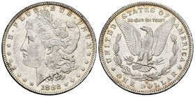 United States. 1 dollar. 1882. New Orleans. O. (Km-110). Ag. 26,65 g. Choice VF/Almost XF. Est...35,00.