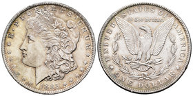 United States. 1 dollar. 1885. New Orleans. O. (Km-110). Ag. 26,69 g. It retains some luster. AU. Est...40,00.