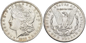 United States. 1 dollar. 1885. New Orleans. O. (Km-110). Ag. 26,71 g. Almost XF. Est...35,00.