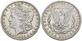 United States. 1 dollar. 1886. New Orleans. O. (Km-110). Ag. 26,52 g. Almost VF. Est...25,00.