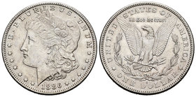 United States. 1 dollar. 1886. San Francisco. S. (Km-110). Ag. 26,71 g. Scarce. Almost XF. Est...50,00.