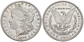 United States. 1 dollar. 1889. New Orleans. O. (Km-110). Ag. 26,63 g. Choice VF. Est...30,00.