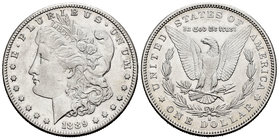 United States. 1 dollar. 1889. San Francisco. S. (Km-110). Ag. 26,65 g. Scarce. Choice VF/Almost XF. Est...50,00.