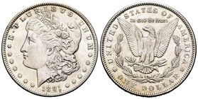 United States. 1 dollar. 1891. Philadelphia. (Km-110). Ag. 26,71 g. Choice VF. Est...25,00.