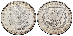 United States. 1 dollar. 1891. San Francisco. S. (Km-110). Ag. 26,67 g. Choice VF. Est...25,00.