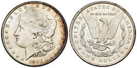 United States. 1 dollar. 1896. Philadelphia. (Km-110). Ag. 26,73 g. It retains some luster. AU. Est...40,00.