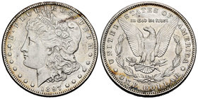 United States. 1 dollar. 1897. San Francisco. S. (Km-110). Ag. 26,60 g. Choice VF. Est...25,00.