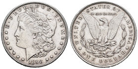 United States. 1 dollar. 1898. Philadelphia. (Km-110). Ag. 26,69 g. Almost XF. Est...30,00.