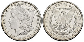 United States. 1 dollar. 1899. New Orleans. O. (Km-110). Ag. 26,76 g. Almost XF. Est...30,00.