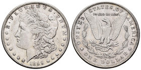 United States. 1 dollar. 1899. San Francisco. S. (Km-110). Ag. 26,65 g. Almost XF. Est...30,00.