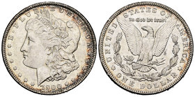 United States. 1 dollar. 1900. Philadelphia. (Km-110). Ag. 26,74 g. Hairlines. Almost XF. Est...30,00.