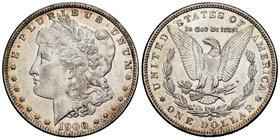 United States. 1 dollar. 1900. New Orleans. O. (Km-110). Ag. 26,69 g. Almost XF. Est...35,00.