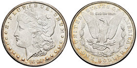 United States. 1 dollar. 1902. New Orleans. O. (Km-110). Ag. 26,72 g. It retains some luster. XF. Est...35,00.