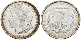 United States. 1 dollar. 1903. New Orleans. O. (Km-110). Ag. 26,70 g. Choice VF. Est...25,00.