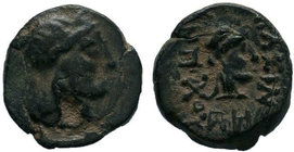 Greek Coins, Psidia - Antioch Ae ??  Condition: Very Fine  Weight: 1.22 gr Diameter: 11 mm