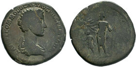 Commodus. AD 177-192. Æ Sestertius   Condition: Very Fine  Weight: 26.30 gr  Diameter: 32 mm