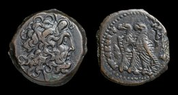 PTOLEMAIC KINGS of EGYPT: Ptolemy IX to Ptolemy XII (116-51 BCE), AE21. Alexandria, 6.73g, 21mm. 