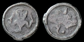CELTIC: Remi, 1st Century BCE, potin. 4.04g, 20mm.