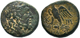 BITHYNIA.Dia. Bronze, (circa 85-65 BC). AE Bronze.