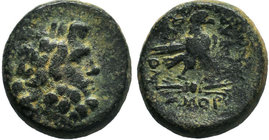 PHRYGIA. Amorion 200-100 BC.AE Bronze.