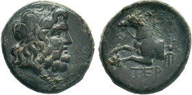 PISIDIA.Termessos Æ18. 1st century BC.AE Bronze.