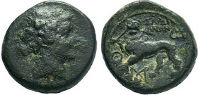 LYDIA.Sardeis.( circa 200-0 BC).AE Bronze.