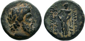 PHRYGIA.Akmoneia.( circa 100 BC). AE Bronze.