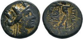 PHRYGIA.Apameia.(100-50 BC).AE Bronze.