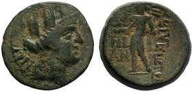 CILICIA.Korykos (c 100 BC). AE Bronze.