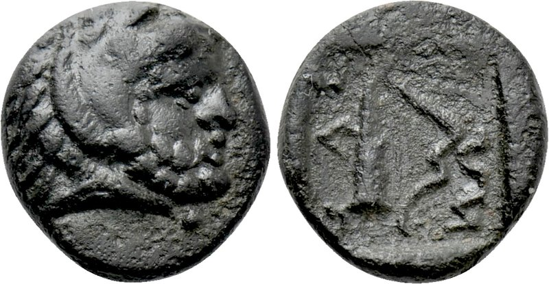 THRACE. Thasos. Ae (Circa 404-355 BC). 