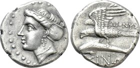 PAPHLAGONIA. Sinope. Drachm (Circa 330-300 BC). Dionys-, magistrate.