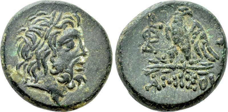 PONTOS. Amisos. Ae (Circa 100-85 BC). 