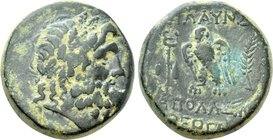 LYDIA. Blaundus. Ae (2nd-1st centuries BC). Apollonios, son of Theogenes, magistrate.