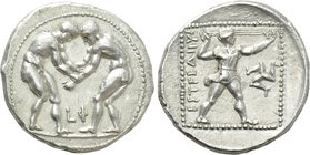 PAMPHYLIA. Aspendos. Stater (Circa 380/75-330/25 BC).